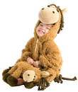 Morris Costumes PP-4109TM Happy Horse Tod 12/18M