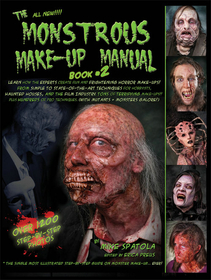 Morris Costumes RB-184 Monstrous Make Up Book 2