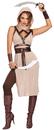 Morris Costumes RL-10254MD Desert Warrior Woman Medium