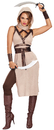 Morris Costumes RL-10254SM Desert Warrior Woman Small