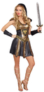 Morris Costumes RL-10273SM Deadly Warrior Woman Small