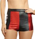 Morris Costumes RL-10395ML Harlequin Shorts Blk/Red Med L