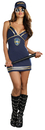 Dreamgirl RL-A8586MD Police Dress Adult Medium