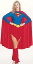 Rubies 15553MD Supergirl Adult Medium