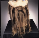 Rubies 2045BN Full Beard And Mustache Brown