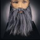 Rubies 2045GY Full Beard And Mustache Grey