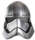 Morris Costumes RU-32303 Captain Phasma 1/2 Mask Adult