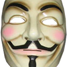 Rubies 4418 V For Vendetta Mask