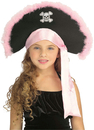 Rubies RU-49552 Pirate Hat In Pink Child