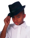 Rubies 49909 Fedora Child Black