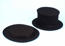 Rubies 56223 Top Hat Collapsible Blck Child