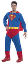 Morris Costumes RU-810396XL Superman Adult Xl
