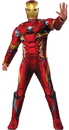 Rubies RU-810968XL Ca3 Iron Man Adult Xl
