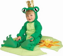 Rubies 81242I Frog Prince Lil Infant 6-12Mos