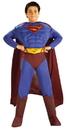 Rubies 82302LG Superman Dlx Musc Ch Large Web