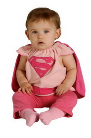 Rubies 885105 Supergirl Bib Infant Web