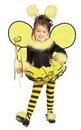 Rubies 885289T Bumblebee Costume Toddler