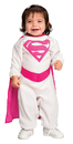 Rubies RU-885335N Pink Supergirl Newborn Costume