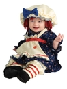 Rubies 885712T Ragamuffin Dolly Toddler