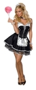 Rubies 888527XS Sexy Maid Adult X-Small