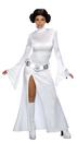 Morris Costumes RU-888610LG Princess Leia Wt Dress Lg Adul