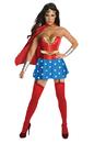 Rubies RU-889897MD Wonder Woman Dlx Adult Med