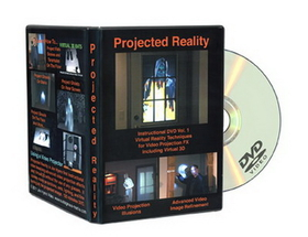 Morris Costumes RV-185 Dvd Projected Reality Vol 1