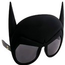 Morris Costumes SG-2220 Sunstache Batman Glasses