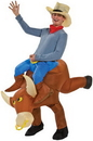 Morris Costumes SS-24529G Bull Rider Inflatable