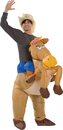 Morris Costumes SS-24533G Riding On Horse Inflatable