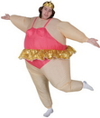 Morris Costumes SS-25794G Ballerina Inflatable