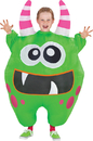 Morris Costumes SS-55194G Inflate Scareblown Green Child