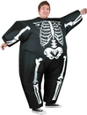 Morris Costumes SS-64368G Inflatable Skeleton Costume