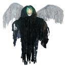 Morris Costumes SS-87119 Hanging Black Winged Reaper