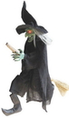 Morris Costumes SS-87258 Witch Hanging On A Broom