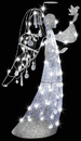 Morris Costumes SS-87340G Jeweled Crystal Angel Clear