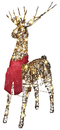Morris Costumes SS-87721G Starry Night Grapevine Deer