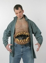 Morris Costumes TA-357 Hunger Pains Chest Piece