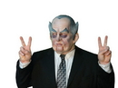 Morris Costumes TA-526 Count Nixon Mask Latex