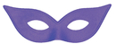 Morris Costumes TI-05PR Harlequin Mask Satin Purple