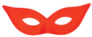 Morris Costumes TI-05RD Harlequin Mask Satin Red