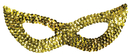 Morris Costumes TI-16GD Cat Mask Sequin Gold