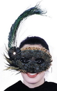 Morris Costumes TI-51 Mask Feather 20S Style