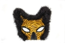 Morris Costumes TI-52 Mask Lion Feather Gold