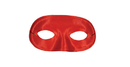 Morris Costumes TI-60RD Half Domino Mask Red