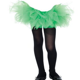 Leg Avenue Lingerie 4900GR Tutu Organza Child Green