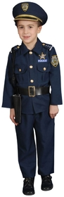 Morris Costumes UP-201SM Police Small 4 To 6