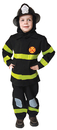 Morris Costumes UP-203MD Fire Fighter No Hat Md 8 To 10