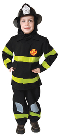 Morris Costumes UP-203T Fire Fighter 2-3 Toddler