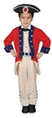 Morris Costumes UP-294SM Colonial Soldier 4 To 6